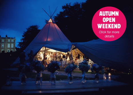Autumn open weekend