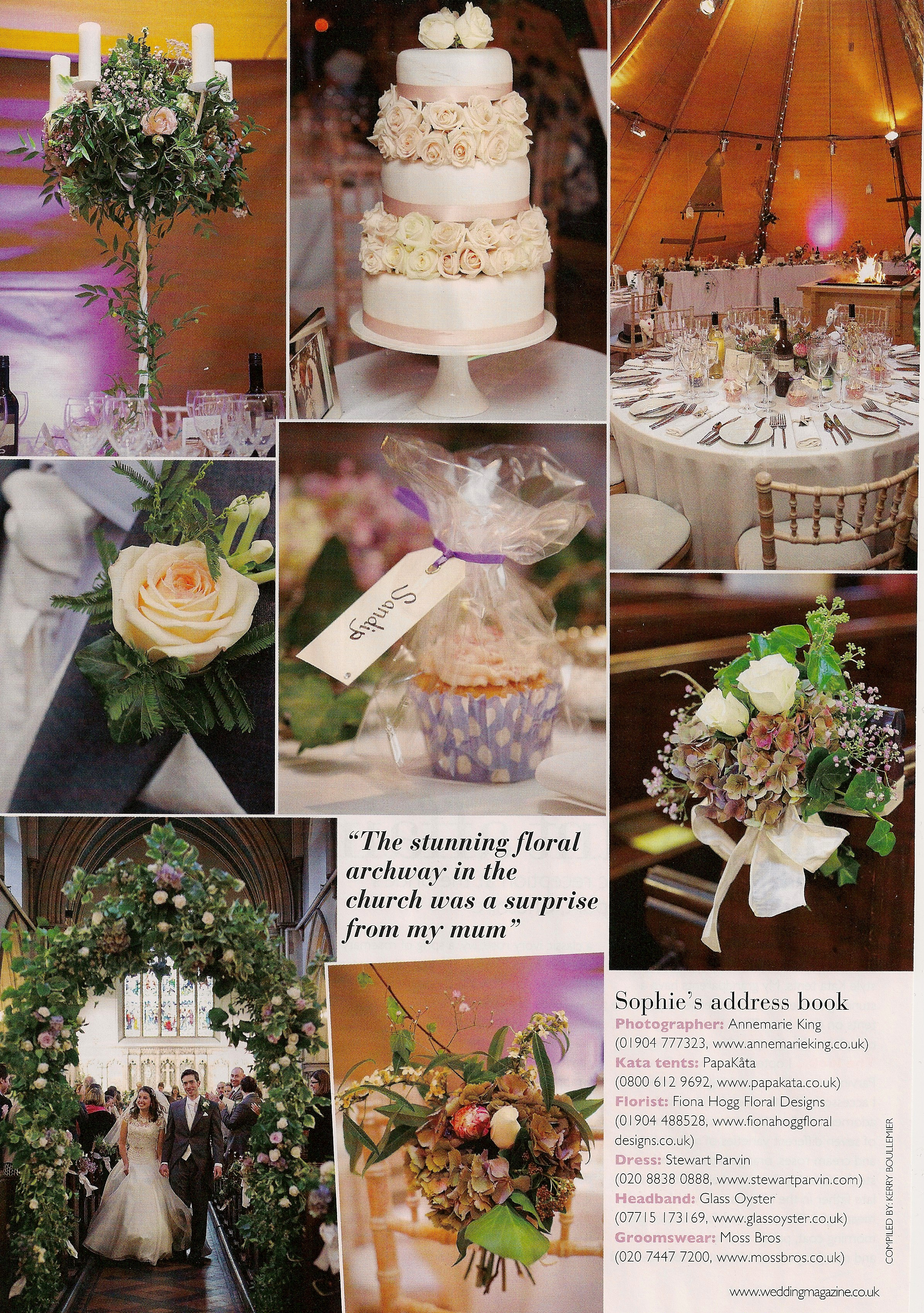 wedding flowers magazine features papak ta papak ta. Black Bedroom Furniture Sets. Home Design Ideas