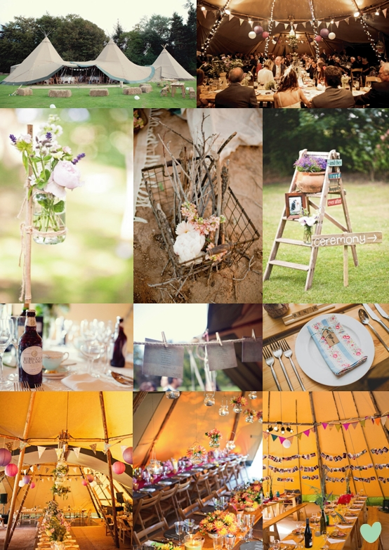 Rustic Vintage Teepee Styling Wedding Community Papak 229 Ta