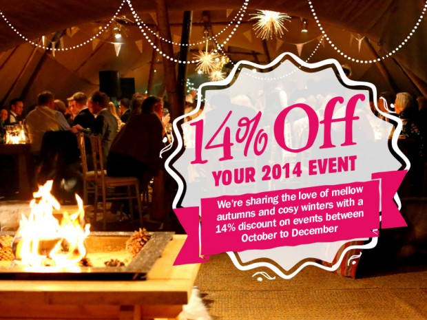 14% off your 2014 events