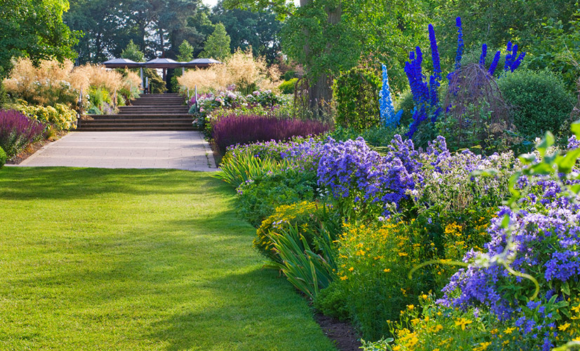 glorious garden venue at wisley   papak ta
