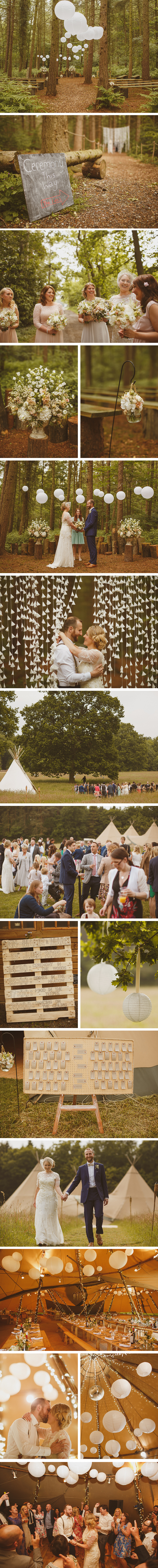 Ann-Marie & Mark PapaKata Teepee Wedding at Camp Katur, North Yorkshire