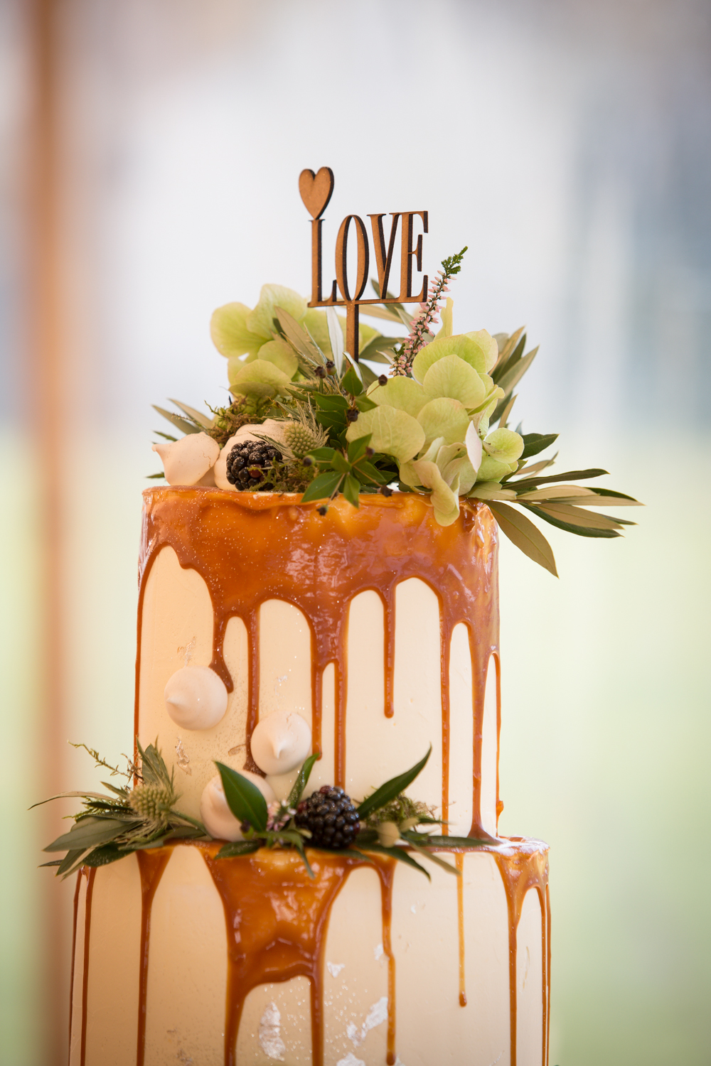 Drip cake by Lindsey Green- The Barn Bakery