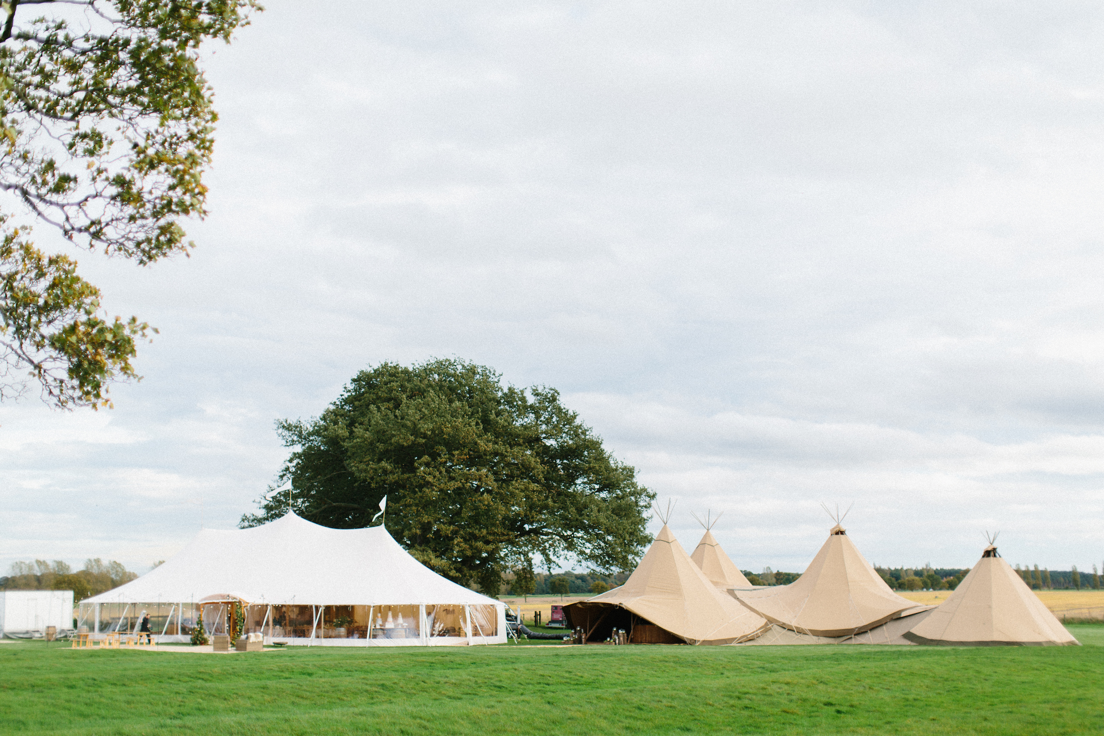 PapaKåta Autumn Open Weekend 2017: Teepees and Sperry Tents at Escrick Park by Melissa Beattie