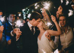 Lucy and Christian's Teepee Wedding