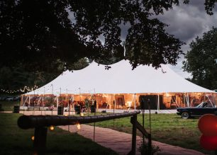 Celia and Ted's PapaKata Sperry Tent Wedding