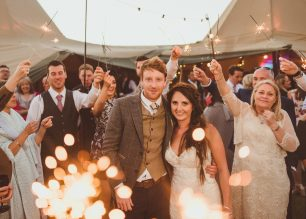 Beth & Paul's PapaKata Teepee Wedding