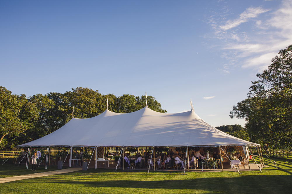 PapaKåta Sperry Tent couple Ellie & James' wedding was planned to perfection by Natalie Hewitt. Image by Matt Brown Photography