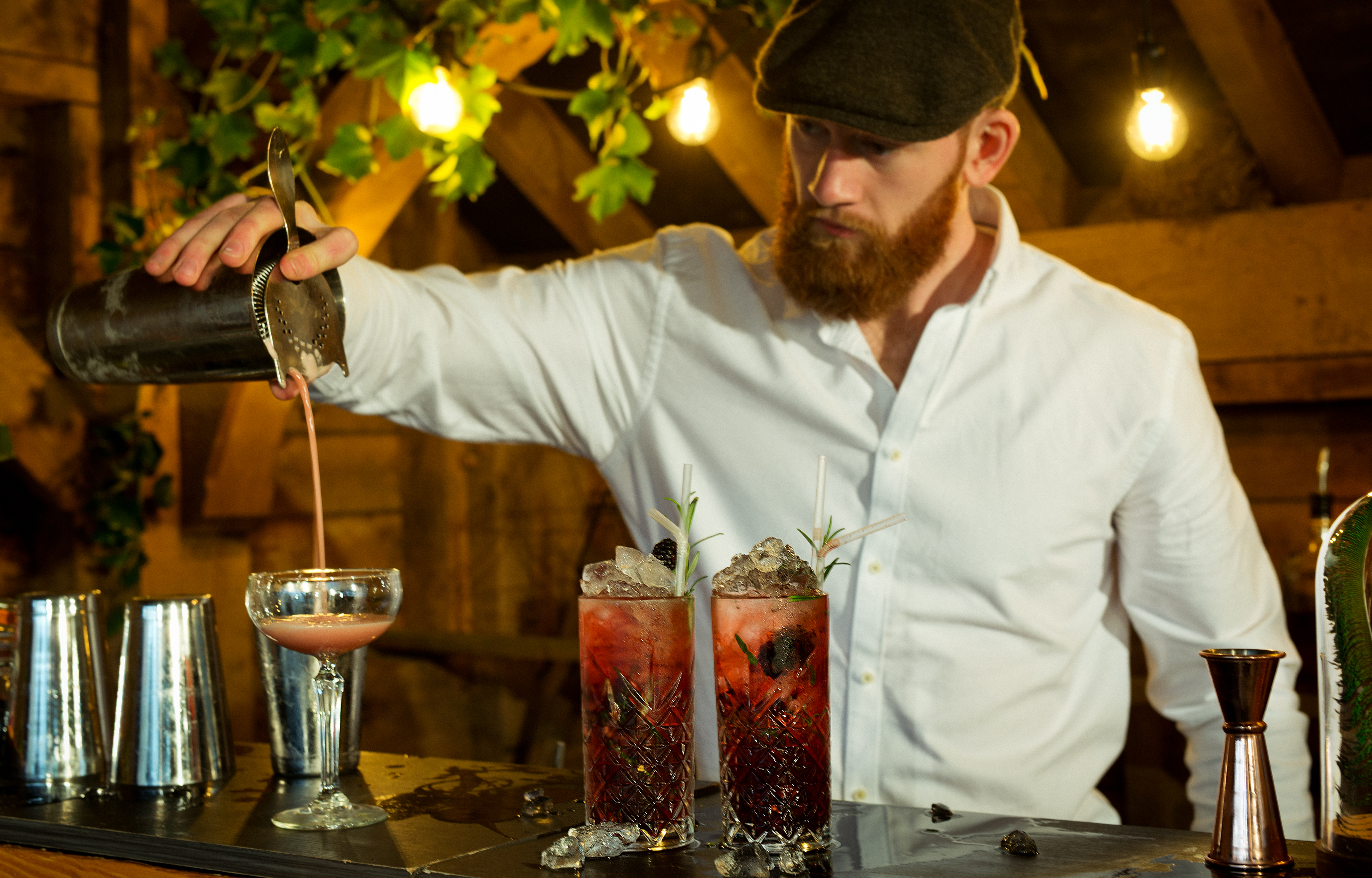 Yorkshire Bar Tender expect innovative mixology. Image by Food & Moore Photography