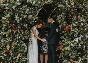Amy & Darren's PapaKåta Teepee Wedding Northumberland