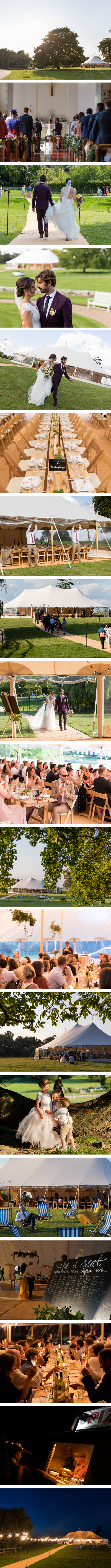 Chiara & Matt's PapaKåta Sperry Tent Wedding