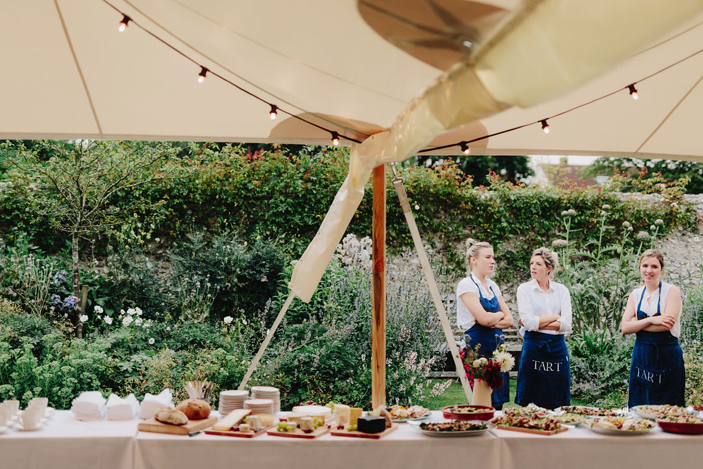 PapaKåta Sperry Tent Wedding at West Dean Gardens with Tart London by Cinzia Bruschini