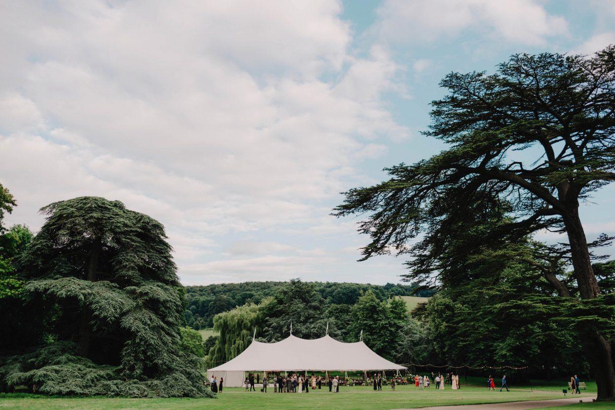 PapaKåta Sperry Tent Wedding at West Dean Gardens by Cinzia Bruschini