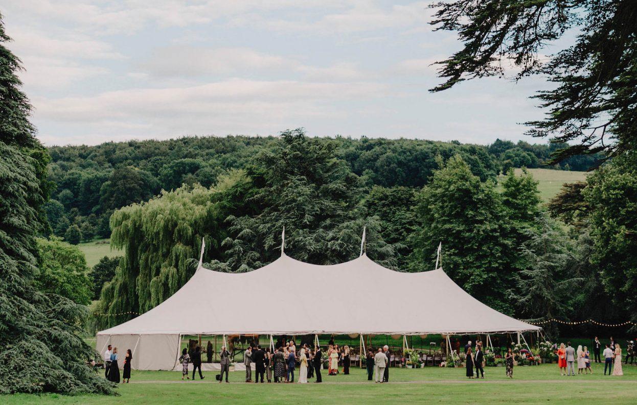 PapaKåta Sperry Tent Wedding at West Dean Gardens, Chichester, West Sussex, by Cinzia Bruschini
