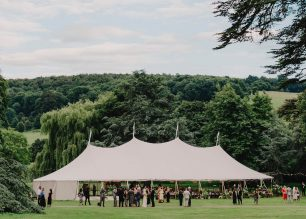 PapaKåta Sperry Tent Wedding at West Dean Gardens, Chichester, West Sussex, by Cinzia Bruschini