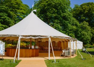 Alice and Alex's PapaKata Sperry Tent Wedding in Perthshire, Scotland