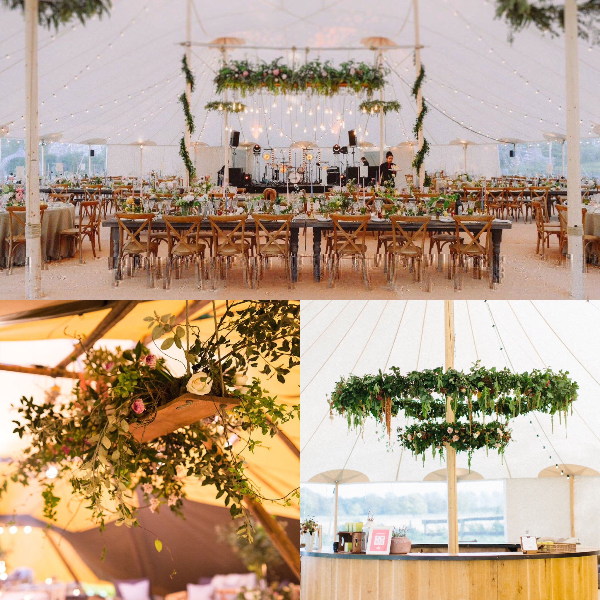 Bringing the outside in with PapaKåta Teepees and Sperry Tents Finishing Touches and hanging elements Images L&V Photography | Natasha Cadman | Melissa Beattie