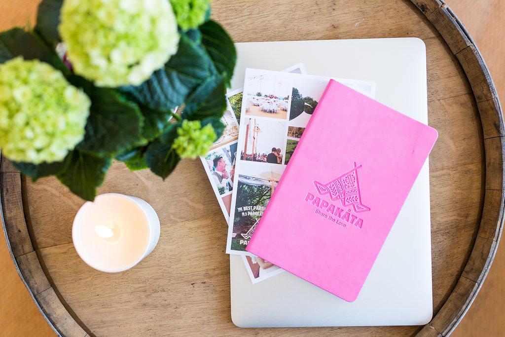 PapaKåta pink wedding & event planner by Natasha Cadman Photography