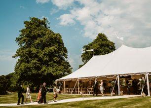 Annabel & Ben's PapaKata Sperry Tent wedding