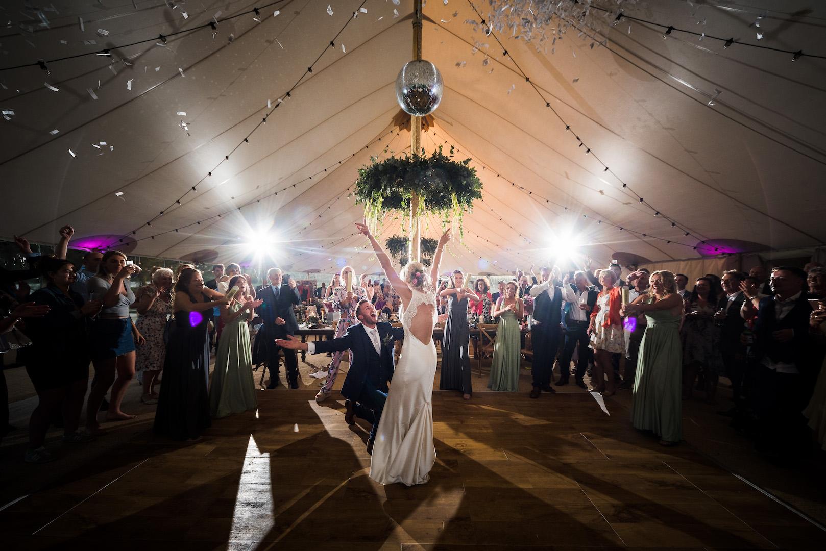 Sarah and Joe's PapaKata Sperry Wedding: First Dance
