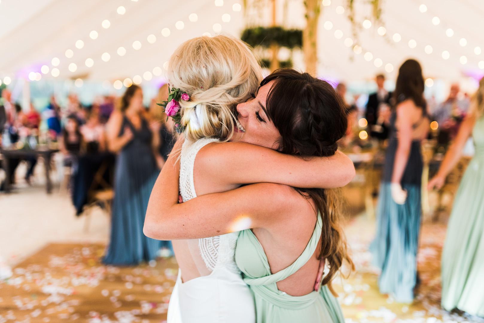 Sarah and Joe's PapaKata Sperry Wedding: Bride & Bridesmaid style
