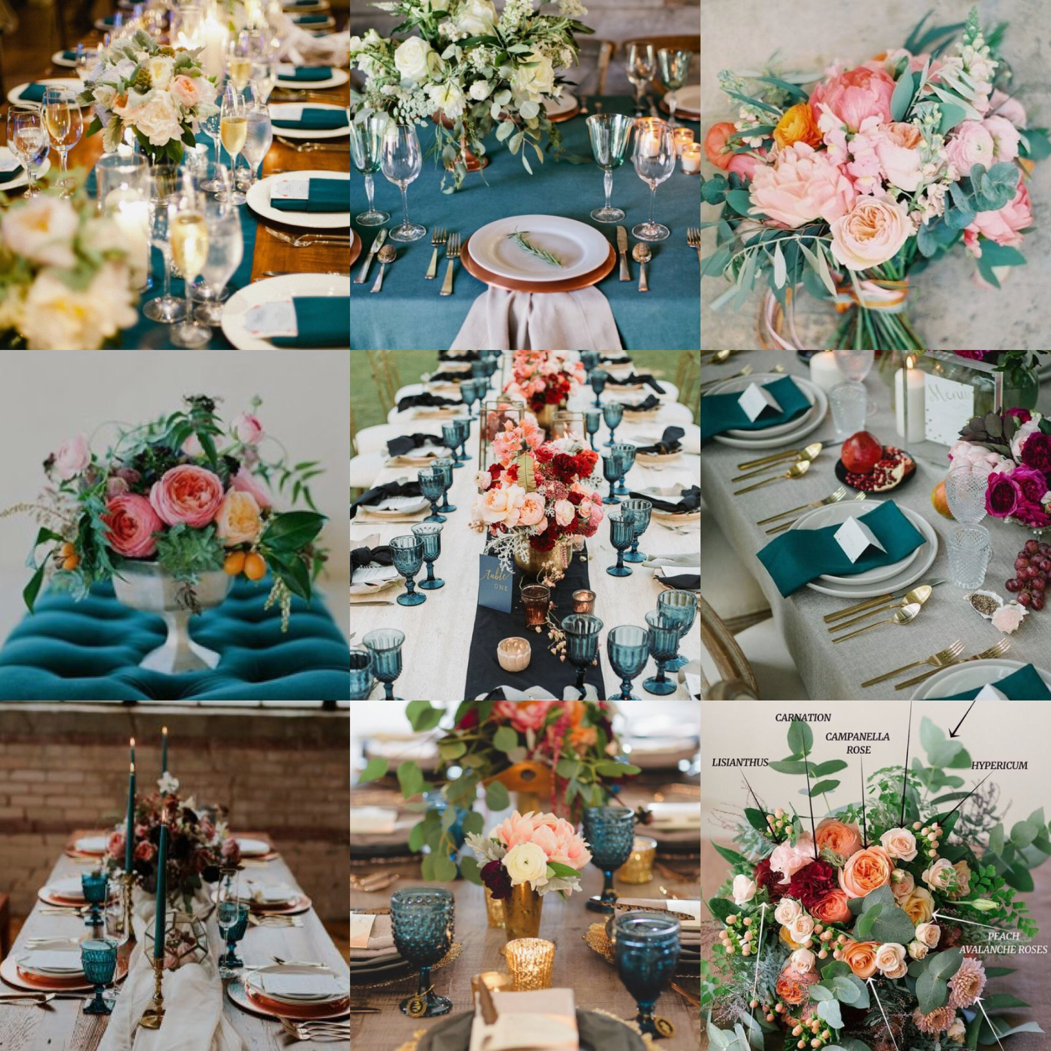 PapaKåta Autumn Open Weekend 2018 Inspiration: A Touch of Tuscany, Images via Pinterest