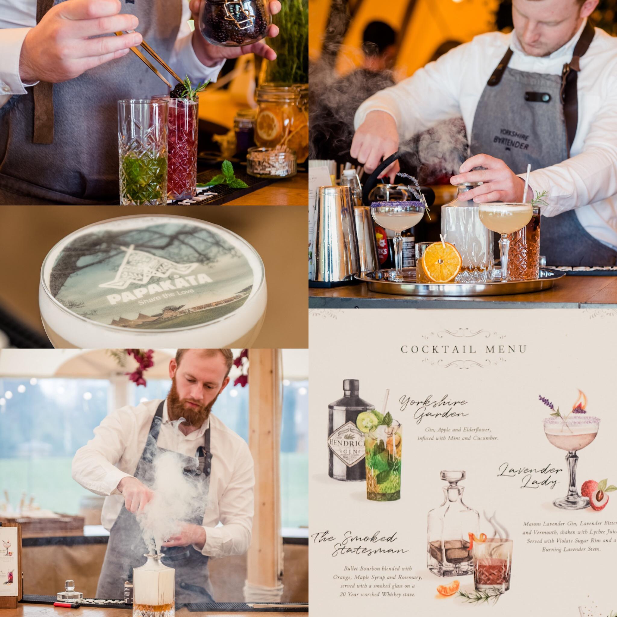 PapaKata Autumn Open Weekend Drink inspiration by Yorkshire Bartender