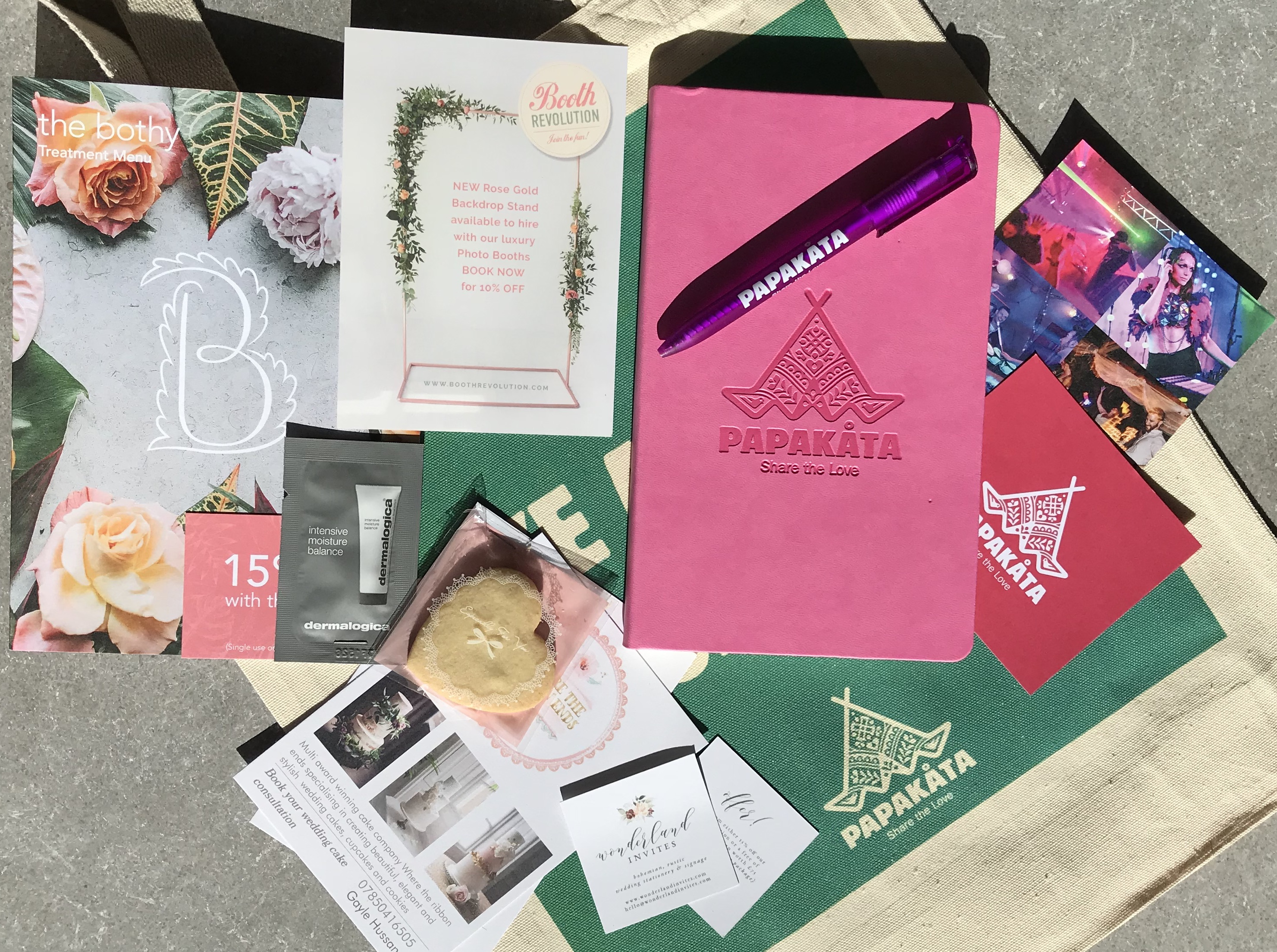 PapaKata Autumn Open Weekend Goody Bag