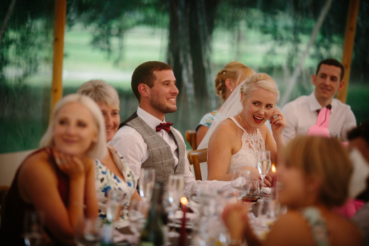 Dannii & Tom's PapaKata Sperry Tent Wedding by Wynn Davies Photography