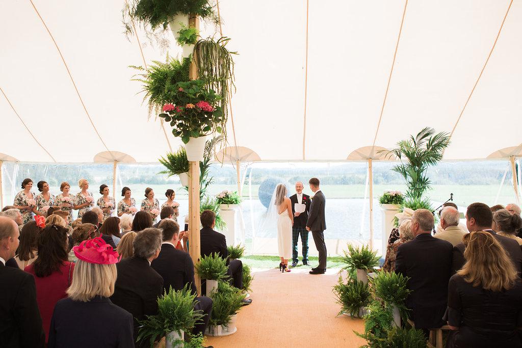 Anna & Jamies' PapaKåta Sperry Ceremony by Lucy Davenport Photography