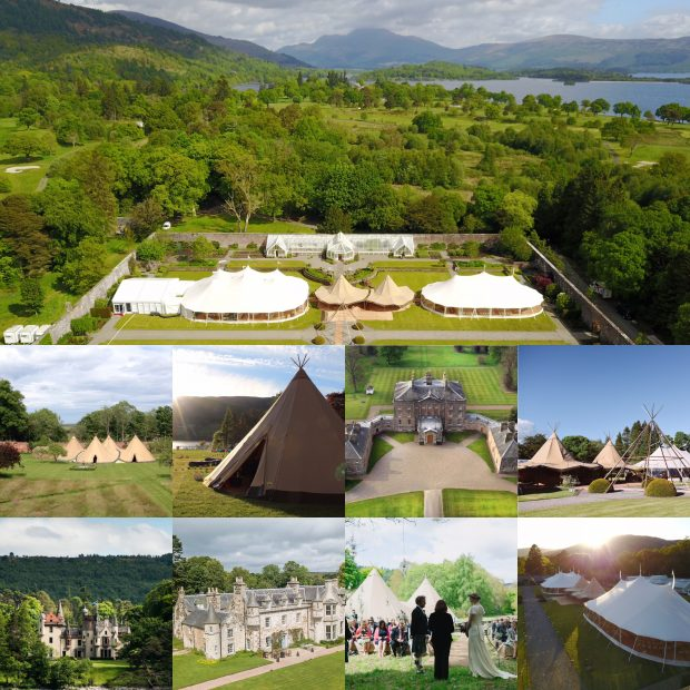 PapaKata Scotland Sperry Tent and Teepee Wedding and Events