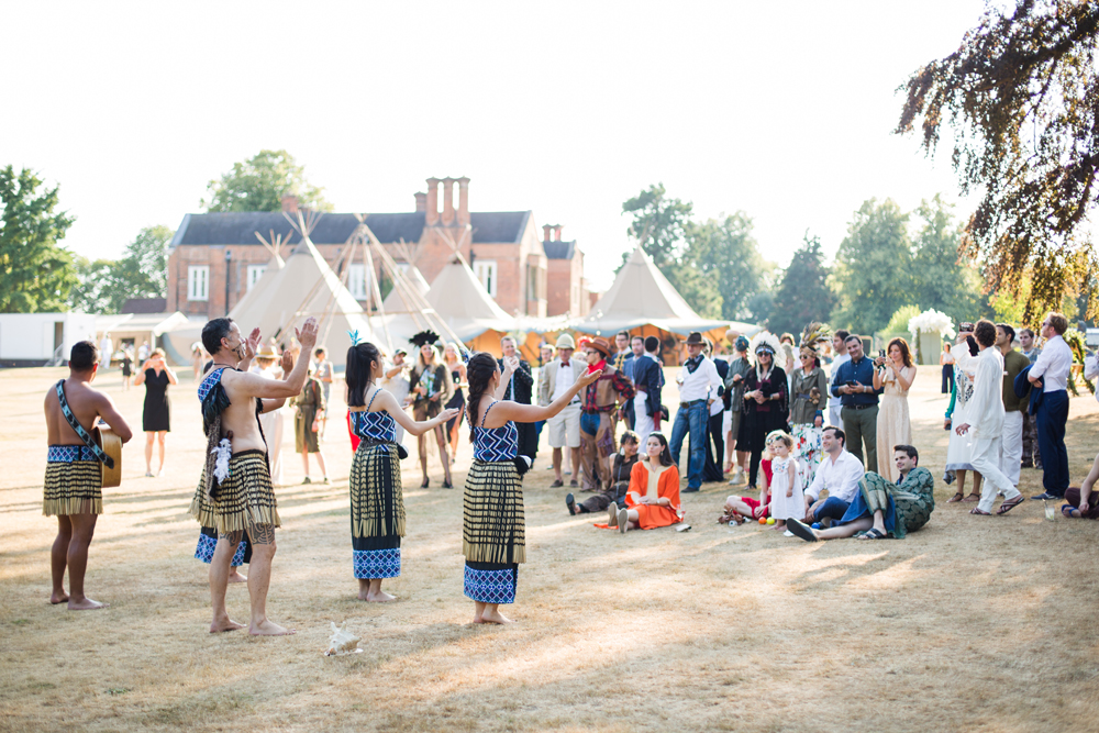PapaKåta Teepee Wedding in Buckinghamshire Planned by Charlotte Elise Weddings and Events captured by Cecelina Photography- Entertainment
