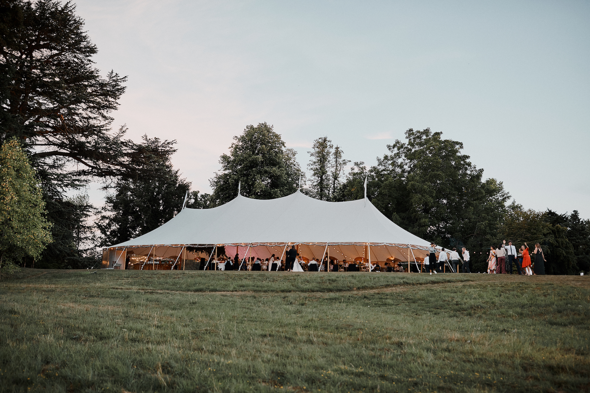 PapaKata Couple Claudia & Jimmy Sperry Tent Wedding at Norton Hall captured by Benjamin Wheeler