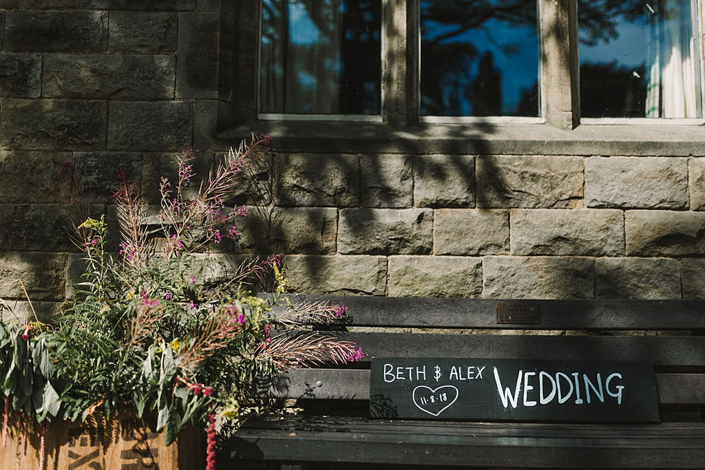PapaKata Chilled DIY Festival Inspired Teepee Wedding Captured by Anna Wood Photography- Wedding Signage