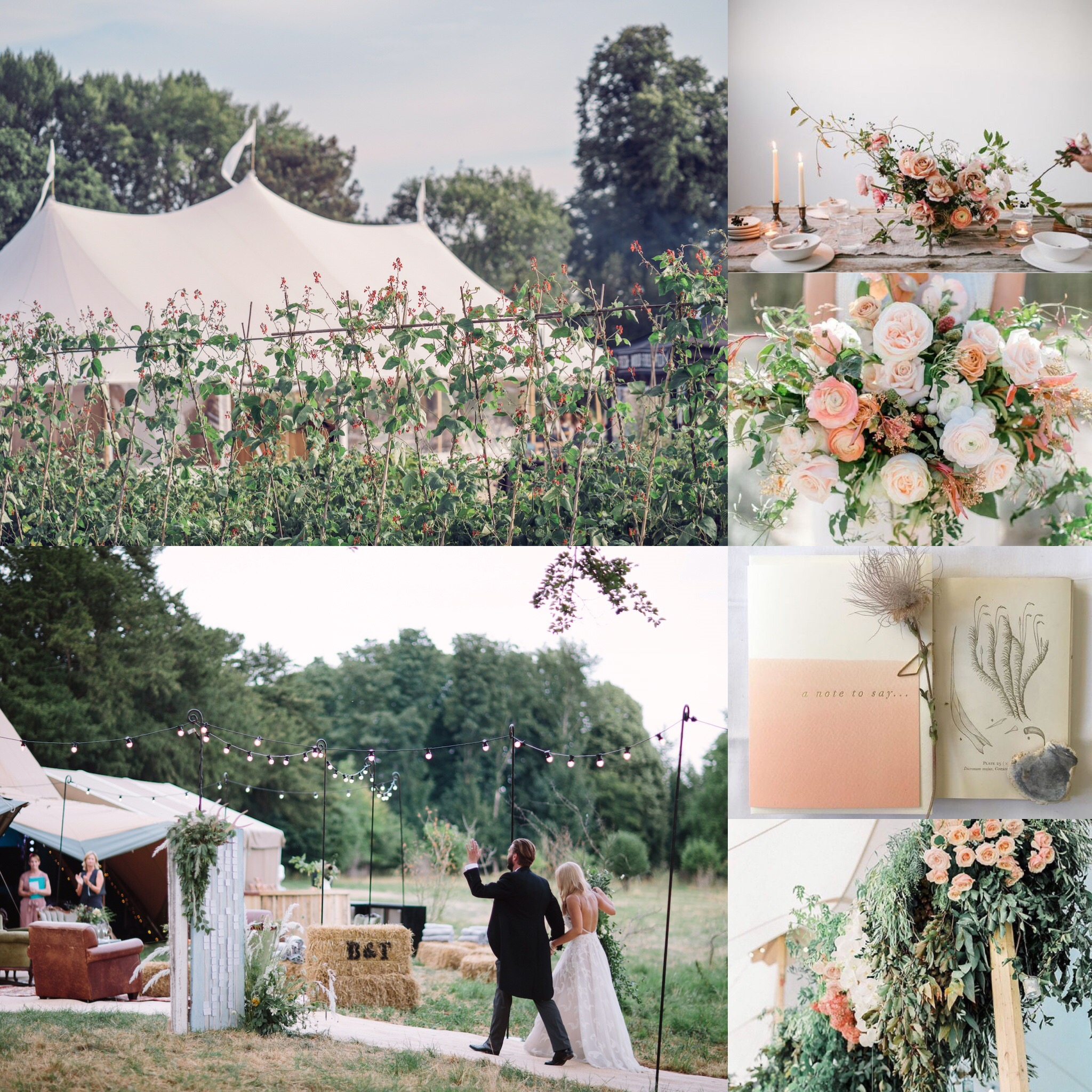 PapaKata Spring 2019 Open Weekend Teepee and Sperry Tent wedding and event Inspiration and trends