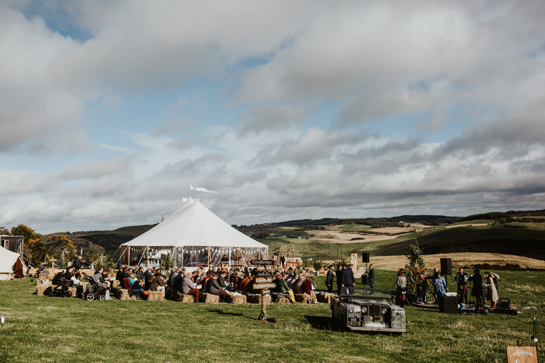 PapaKåta couple Eilidh & Lloyd's Sperry Wedding in Glenfarg, Perthshire captured by Colin Ross Photography