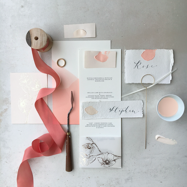 Lonetree Mood Board Blush Collection for the PapaKata Open Weekend