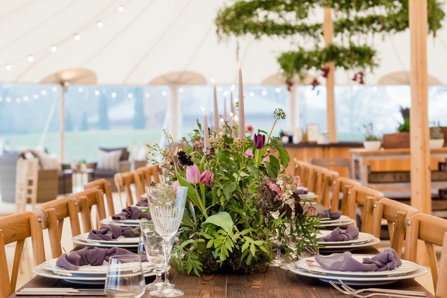Whitehouse Event Crockery for the PapaKata Open Weekend by Dominic Wright Photography