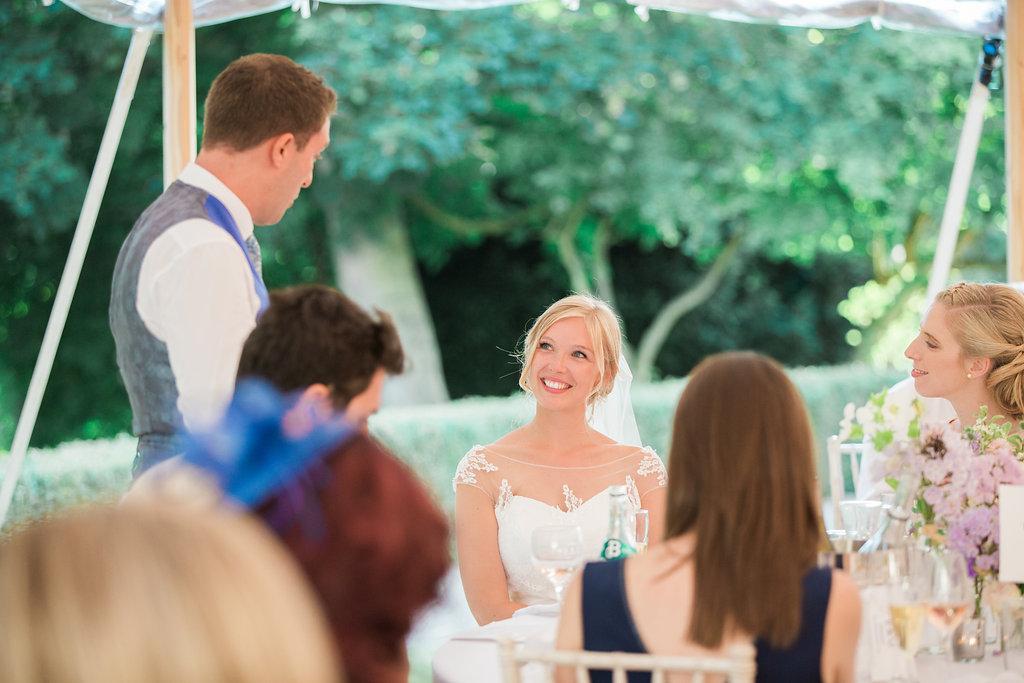 Georgie & Ben's PapaKåta Sperry Tent wedding at Newington House captured by Lucy Davenport: Bridal Style