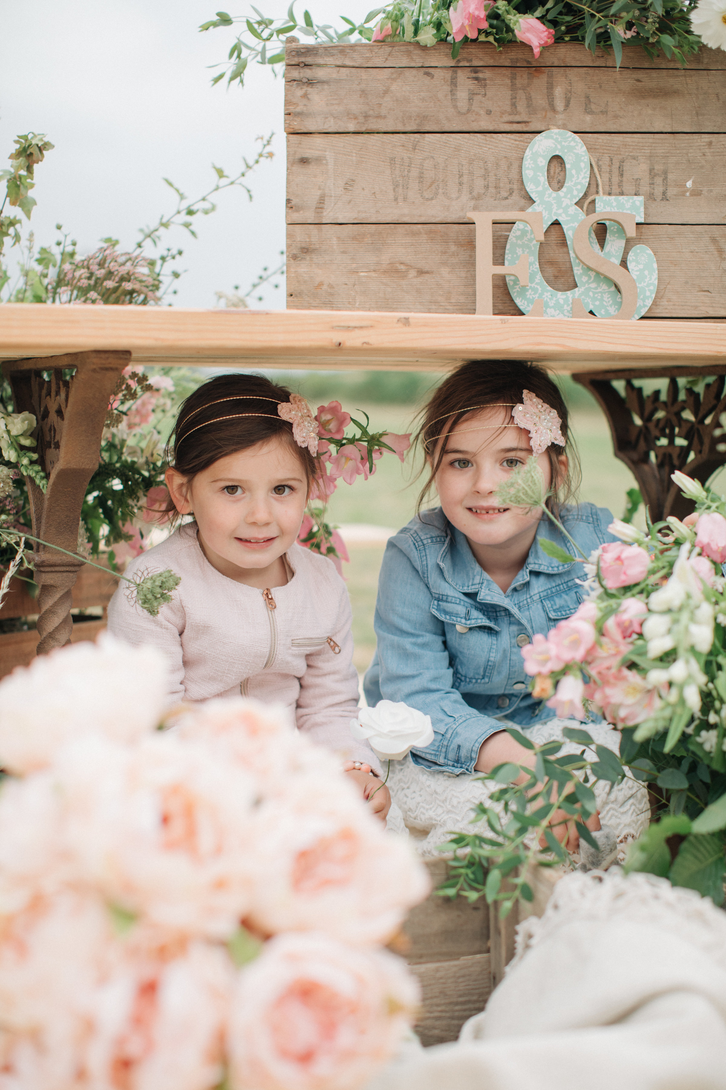 Steph & Ed's PapaKåta Sperry Tent wedding at home in Nottingham captured by M & J Photography: Child Wedding Guest Style